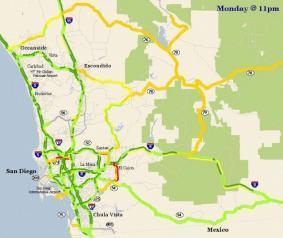 Tele Atlas ofrece mapas con históricos de velocidad para el GPS