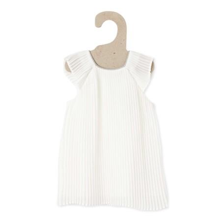 Vestido De Fiesta Blanco Nieve Bebe Nina Tp850 1 Zc1