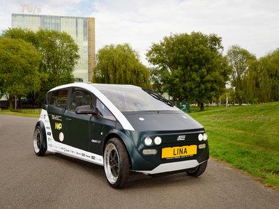 El primer coche biodegradable se llama Lina y es obra de estudiantes de la universidad de Eindhoven