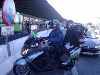 En Madrid ya puedes moverte en Moto Taxi