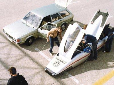 Un diésel a más de 364 kilómetros por hora en los años ochenta, así era el ARVW de Volkswagen