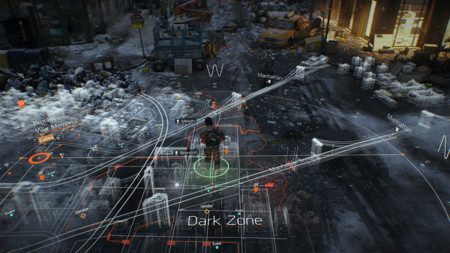 Shooter Mmo Games Tom Clancys The Division Map Screenshot