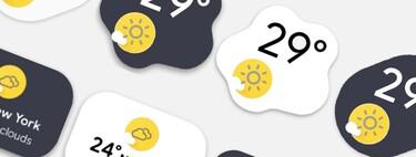 Los widgets del tiempo de Android 12 en cualquier otro móvil gracias a esta aplicación