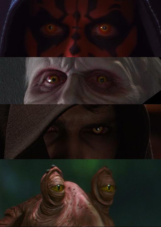 Los ojos de los Sith