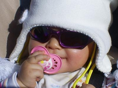 La foto de tu bebé: lista para la nieve