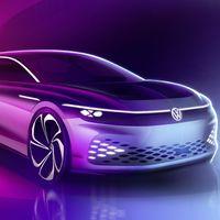 El Volkswagen ID. Space Vizzion anticipa un coche eléctrico familiar con 590 km de autonomía: lo conoceremos en unos días