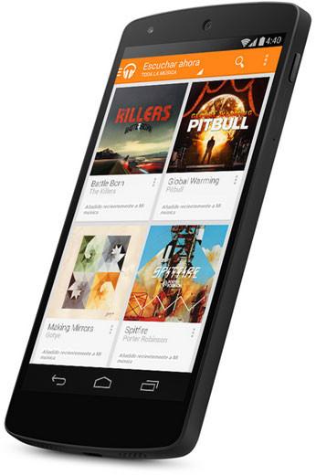 Nexus 5, el nuevo superteléfono de Google