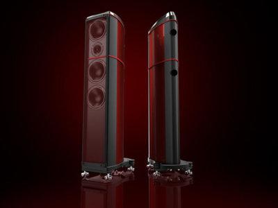 Estos altavoces de Wilson Benesch están fabricados con fibra de carbono y tecnología de la Fórmula 1