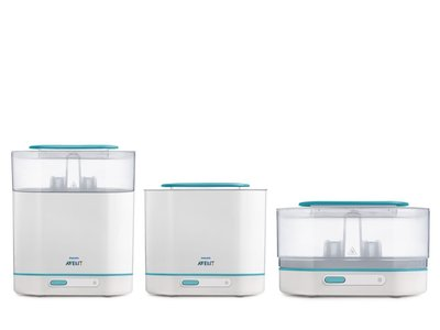 Philips Avent SCF285/02: Esterilizador a vapor eléctrico 3 en 1 por 54,75. Envío gratis