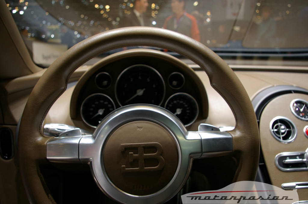 Bugatti Veyron Hermès en el Salón de Ginebra