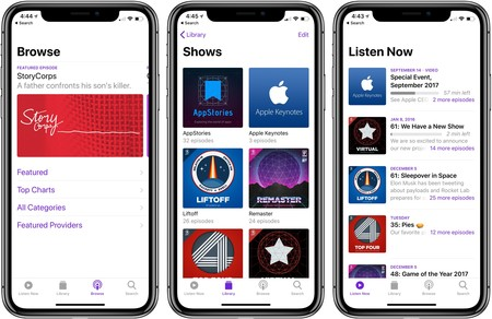 Apple lanza la versión beta de su servicio de datos analíticos para podcast