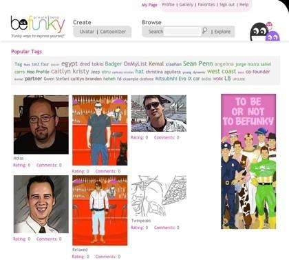 Befunky, creando avatares e imágenes de comic con nuestro rostro