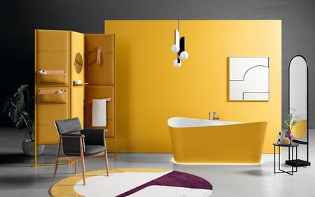 Personaliza tu baño: Las bañeras en color son tendencia