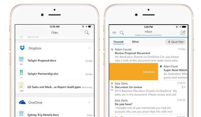 Microsoft Outlook for iOS, llega la nueva aplicación de correo para iOS