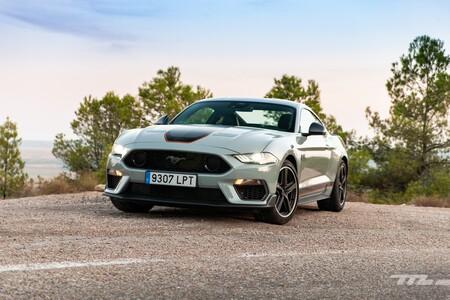 Ford Mustang Mach 1 2021 Prueba 062