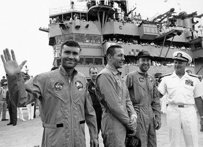 """Mañana se cumplen 42 años del despegue del Apolo XIII y su frase """"Houston, tenemos un problema""""."""