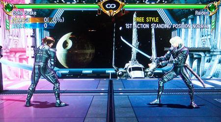 Solid Snake y Raiden en 'Soul Calibur IV', gracias al editor de personajes