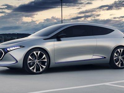 Mercedes-Benz anuncia que el primer compacto eléctrico EQ será 'made in France'