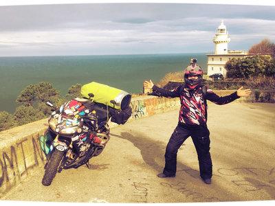 """La aventurera Nikki Misurelli ha viajado desde Alaska con su Honda CBR600RR solo porque """"es un viaje de chicos"""""""