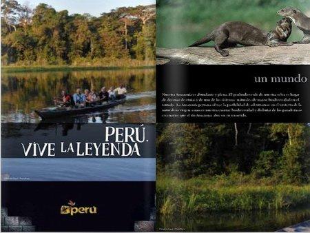 Consulta e imprime folletos promocionales de Perú