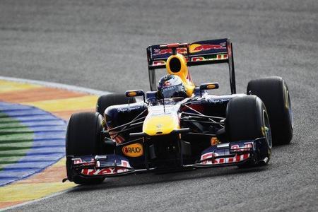 Sebastian Vettel y Red Bull los más rápidos en el primer día de la pretemporada