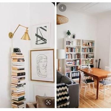 ¿Quieres tener un espacio de lectura en casa? Pinterest nos trae la inspiración necesaria para montarlo