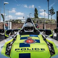 La Policía de la Isla de Man estrena un monoplaza como coche patrulla, en concreto un BAC Mono