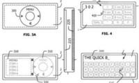 Apple patenta algo parecido a un iPod/iPhone con pantalla táctil trasera