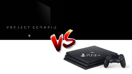 PS4 Pro y Project Scorpio, dos consolas con el mismo objetivo pero en tiempos diferentes
