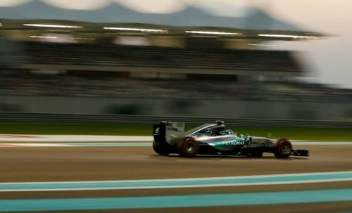 Se consagra Nico Rosberg en el Gran Premio de Abu Dhabi