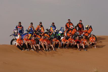 Dakar 2008 equipo KTM