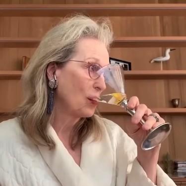 Meryl Streep, Christine Baranski y Audra McDonald se han montado una fiesta por videollamada (y nos representan a todas)