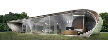 Una casa sorprendente construida con tecnología 3D, una idea de ciencia ficción a punto de ser realidad