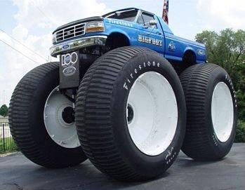 El Monster Truck más grande del mundo