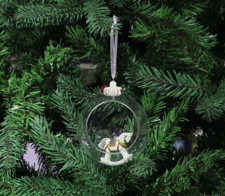 Bola De Cristal Con Caballo Navidad El Corte Ingles