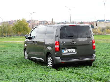 Prueba Toyota Proace Verso Exteriores