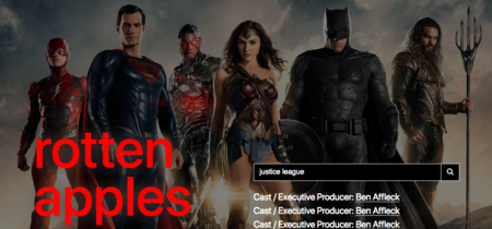 Manzanas podridas, la web que te dice si una serie o película está ligada a algún acusado de abuso sexual
