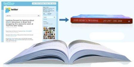 Twournal, convierte tus tweets en un libro