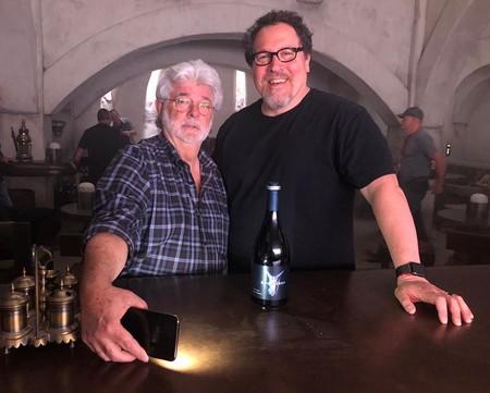 George Lucas y Jon Favreau