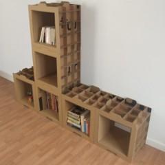 Foto 4 de 4 de la galería estanterias-ligeras-de-carton en Decoesfera