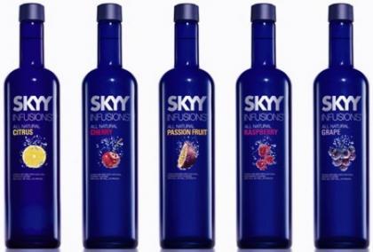 Nuevos sabores tropicales de SKYY Vodka