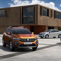 Los Dacia Sandero, Stepway y Logan 2021 adelantan su nueva generación en estas primeras fotos