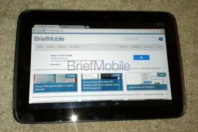 Primeras imágenes de Nexus 10, utilizará el procesador del nuevo Chromebook