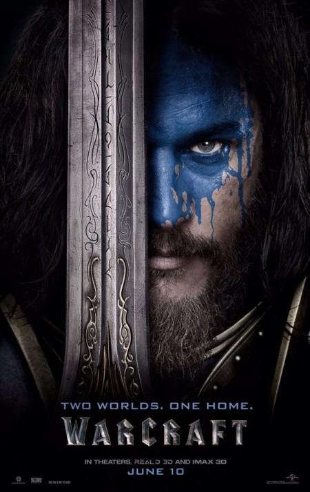 Warcraft Poster Personajes Azul Humanos