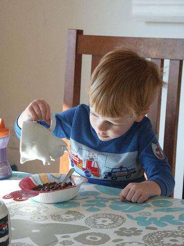 ¿Queréis dar respuesta a las necesidades de energía de los niños?: empezad con un buen desayuno