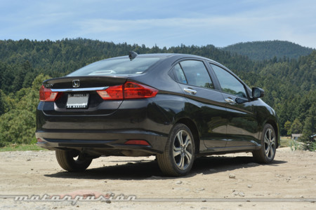 Honda City 2015 Mexico 4