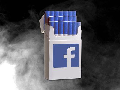 Algunos estadounidenses piensan que Facebook es tan malo para la sociedad como el tabaco o McDonald's