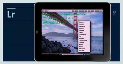 Lightroom para iPad, Adobe ya trabaja en una versión para el tablet de Apple