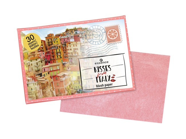 Ess Kisses From Italy Blush Paper With Paper