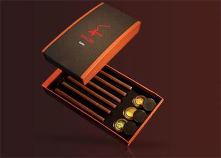Caligrafía japonesa y chocolate